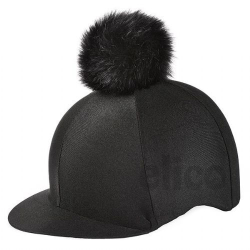 Elico Aberford Lycra Hat Cover with Pom Pom